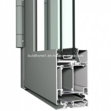 Custom Hinged System Double Glazing Aluminium Door