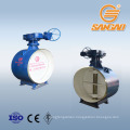 wholesale reliable quality acid steam waste water a216 wcb butterfly valve soft seal handles