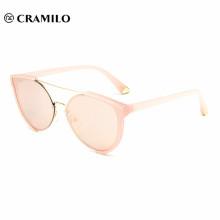 2018 logotipo personalizado de lujo dama gafas de sol para la venta al por mayor
