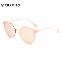 2018 custom logo fancy lady sunglasses for wholesale