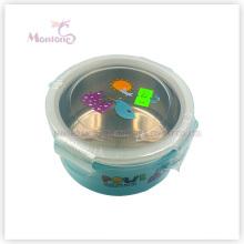 PP Edelstahl Lunchbox mit Schloss für Kinder (450ml)