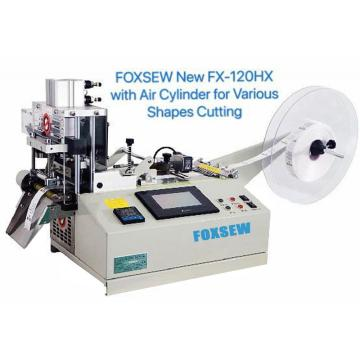 Automatic Tape Cutter (bevel and straight) with Air Cylinder for Various Shapes Cutting