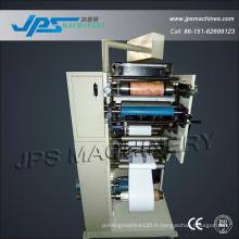 Machine de pressage Flexo de papier d'étiquette de codes-barres d'une couleur entièrement automatique
