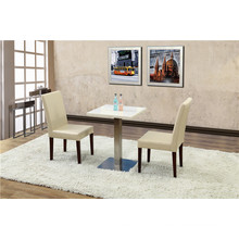 2 Person Square Cafe Table Set Furniture (FOH-BCA51)
