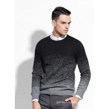 2016 Дешевые пользовательские хлопок Пуловер мужской трикотаж