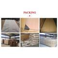 Porta montada popular do PVC da madeira do projeto MDF