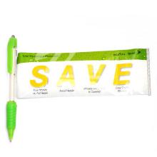 Stylo adapté aux besoins du client mignon en plastique de stylo de bannière
