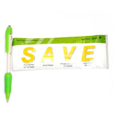 Cheap Cute Plastic Banner Pen Pen personnalisé