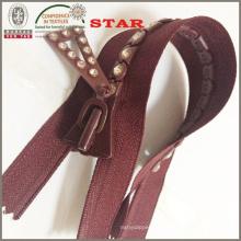 Strumpfhosen Strass Zipper für Kleider