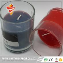 Frascos de vela de vidrio para hacer velas.