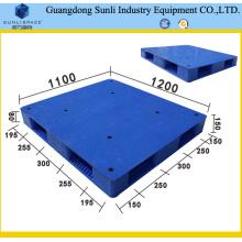 Plataforma de plástico de HDPE con doble cara y estilo Rack