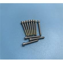 Mecanizado de herramientas de acero HSS con punzón y pasador personalizados