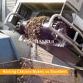 Автоматическая PP пояса конец птицы системы удаления навоза для Чикен-Хаус