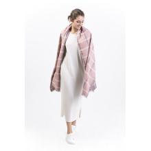 Brushingp-100% lenço de seda de escovação