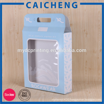 Baby bib packaging paperboard box