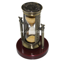 Exquisite Ancient Copper Plating Zinc Alloy Hourglass