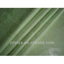 Высокое качество 100% хлопка Африканская ткань духи Гвинея brocade shadda дамасской лимон зеленый Оптовая цена акции акция 2014