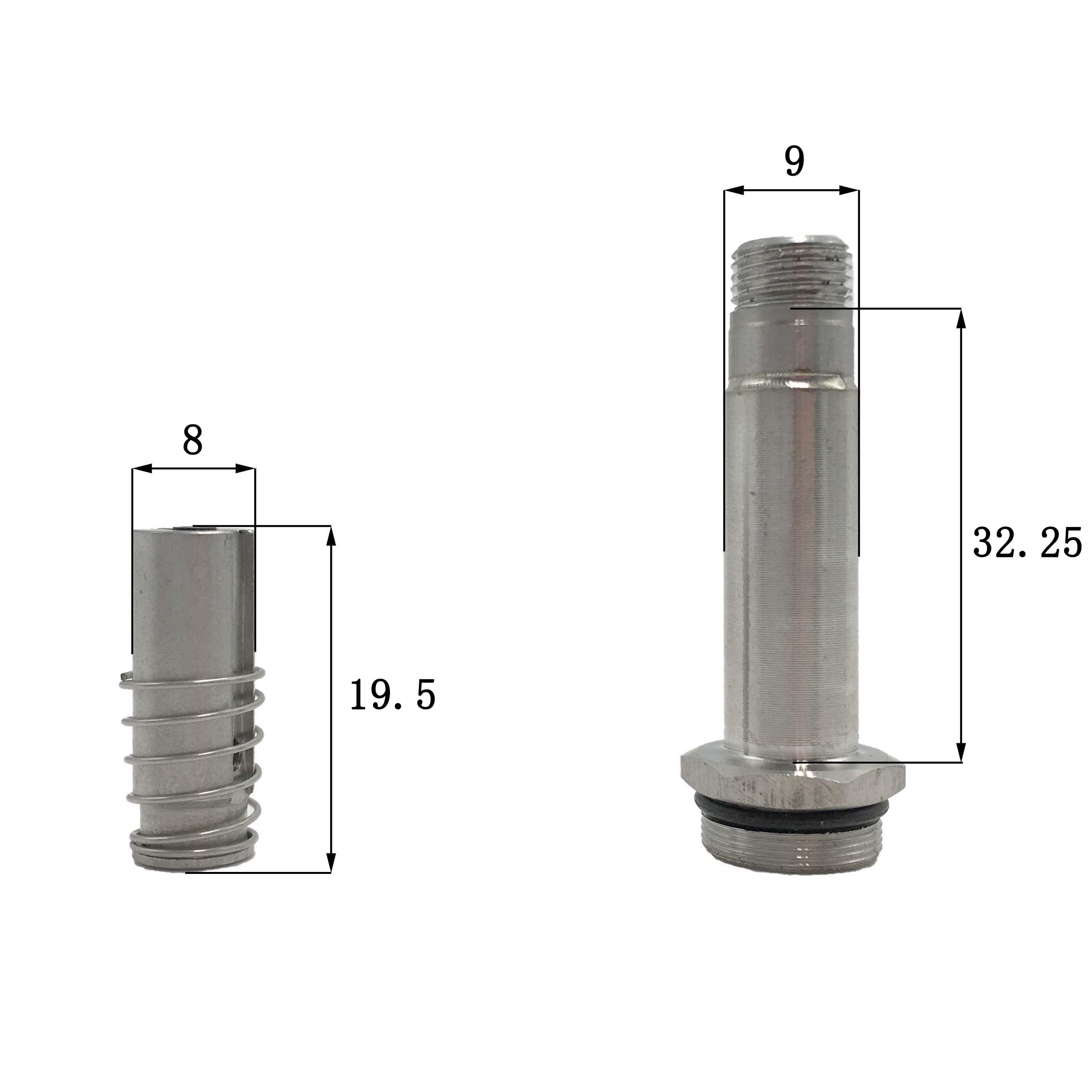 Dimension of BAPC209030031 Armature Assembly: