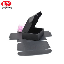 Foldable Black Tea Box for Shipping