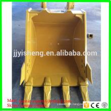 high intensity Q345B steel excavator standard bucket for PC120
