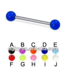 Bague de sourcils aux ongles à sourcils Piercing bijoux aux pierres UV