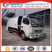 Новые 10cbm Dongfeng уплотнитель мусора грузовик цена