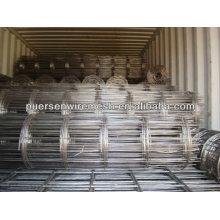 Rolo grande pesado galvanizado Rede de arame soldada