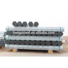 Alibaba hot dip galvanizado aço tubo tamanhos 4 polegadas
