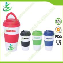 16 Unzen Werbeartikel BPA-Free Kaffeetassen mit Griff