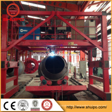 Gantry Type Welding Machine for Gas Fuel Storage Tank Longitudinal and Circular Welding