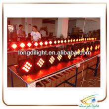 9 * 10W RGBA LED Flat Par, bateria e sem fio powered led quad par