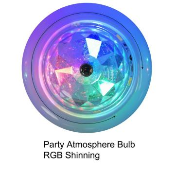 Bar da festa Bulb Atmosphere RGB Bulb