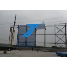 Fornecedor dourado da folha da barreira da poeira do vento em China