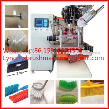 automatic CNC wire toilet brush making machine from Chinese small manufacturer