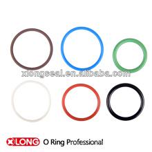 Hermoso color mini elástico 2014 estilo único sello o anillos