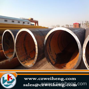 Hot LSAW X60 carbon steel pipe for construction