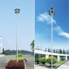 30m Sports Stadium High Mast Lighting Pole with Artificial Ladder