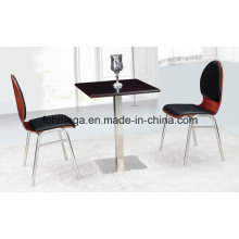 Painting Square Table with Two Chairs (FOH-BC40)