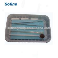 Heißer Verkaufs-wegwerfbarer zahnmedizinischer Installationssatz, wegwerfbares zahnmedizinisches Instrument, zahnmedizinischer Polier-Installationssatz