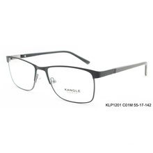 2017 custom Black eyewear frames optical glasses frame metal eyeglasses