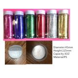 3OZ,4OZ,8OZ,16OZ glitter shaker bottles