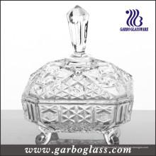 Jarre de confiture en verre de type Moyen-Orient (GB1803R)