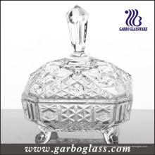 Кондитерская стеклянная банка типа Ближнего Востока (GB1803R)