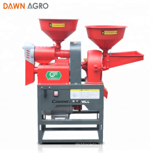DAWN AGRO Moinho de Arroz Combinado Automático Moagem Pulverizer Preço da Máquina