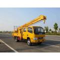 New Dongfeng aerial articulated cherry picker lift truck