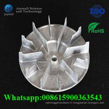 L'alliage d'aluminium fait sur commande moulage mécanique sous pression avec la lame de radiateur