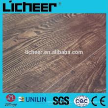 Superficie interna de relieve en relieve 8.3mm Piso laminado / con suelo laminado click click