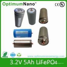 Batería de iones de litio 130wh / Kg 32650 3.2V 5ah