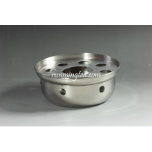 Round Shape Stainless Steel Tea Warmer