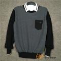 Men's Crew Neck Patch Pocket Sweater